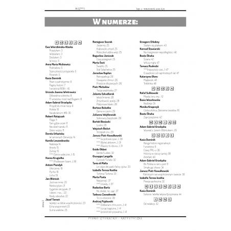 Bezkres NR 8 okładka